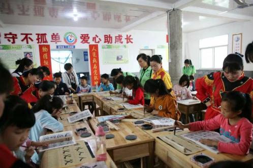 中安信业公益小行动,助推梧岗教育兴村