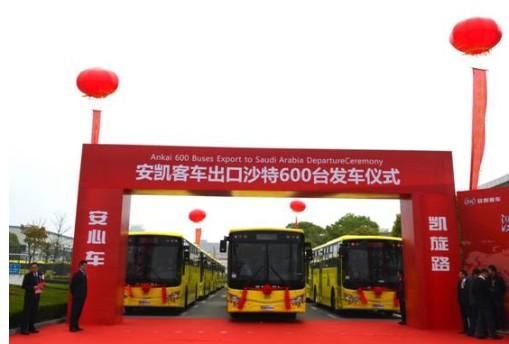 """从安凯连续三年摘得""""年度出口第一大单""""看中国客车海外出口"""
